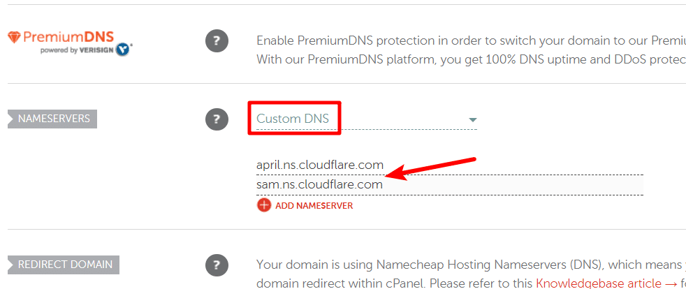 how to change dns at namecheap